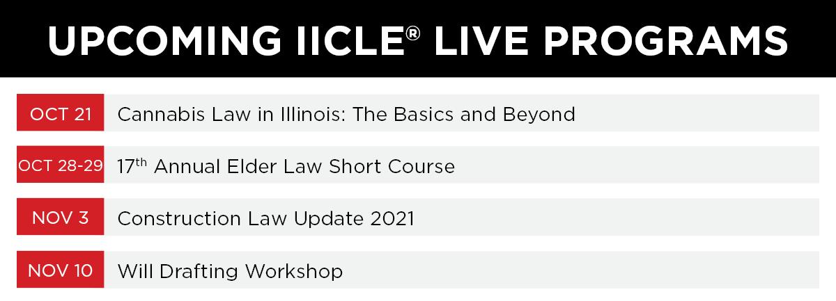 IICLE Program Calendar