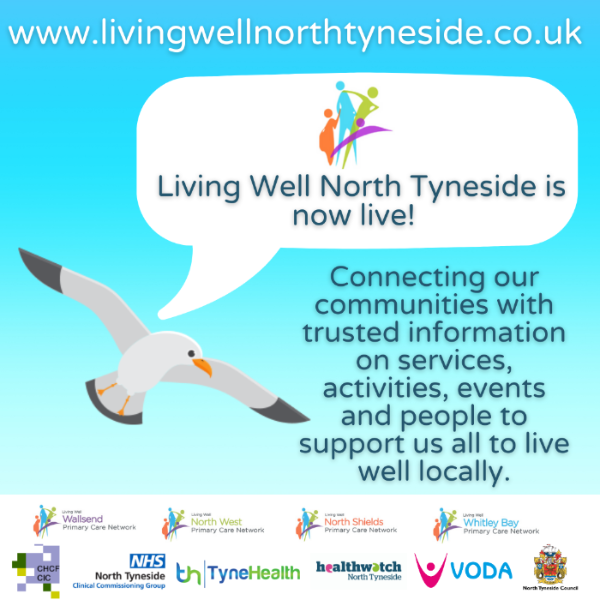 Living Well North Tyneside is now live!