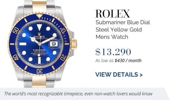 Submariner Blue Dial Steel Yellow Gold