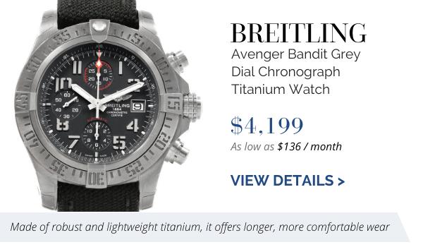 Breitling Avenger Bandit Titanium
