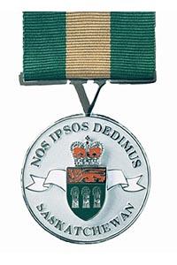 saskatchewan volunteer medal photo