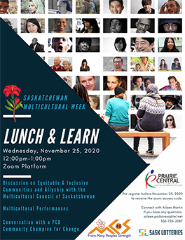 MCoS Lunch and Learn Poster