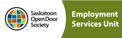 Saskatoon Open Door Society - employment services unit logo