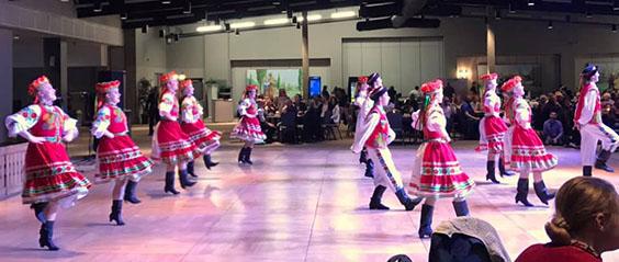 Hafford Cheremka Dancers at Vesna Festival, Saskatoon 2019