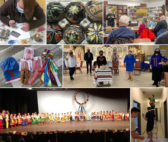 HLF header - photos of activities, https://www.ucc.sk.ca/.../hromada-legacy-fund