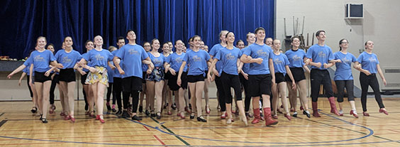 SaskTanets Ukrainian dance class 2018 photo