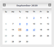 UCC Saskatchewan online calendar of events - website image