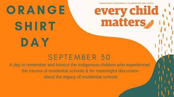 orange shirt day - every child matters - header