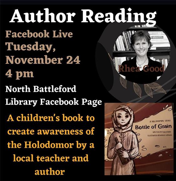 Bottle of Grain: A Holodomor Story - Author Reading