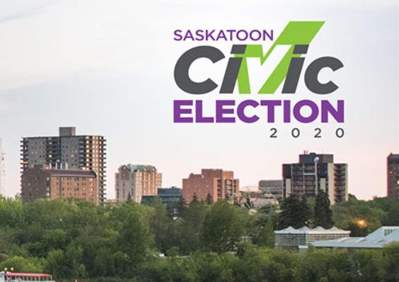 Saskatoon Civic Election 2020 graphic - from saskatoon.ca