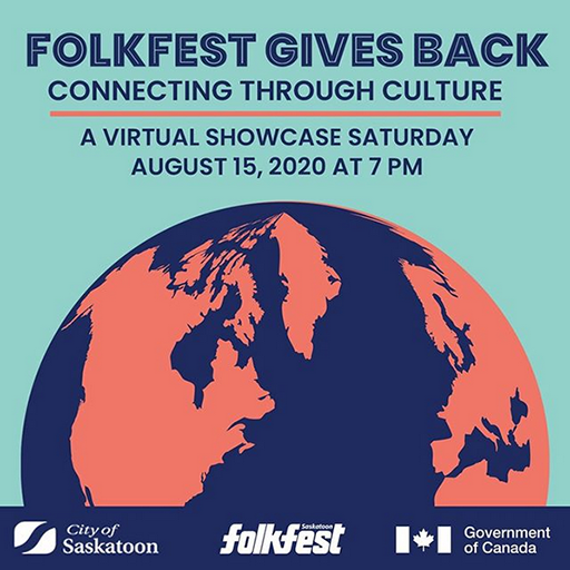 Folkfest Gives Back – Connecting through Culture: A Virtual Showcase - FB promo