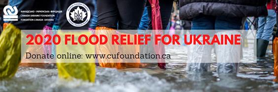ucc national, cuf flood relief banner