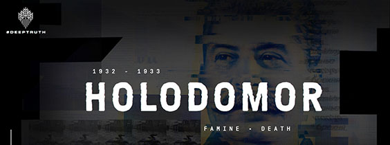 Deep Truth banner - Holodomor in dictionaries petition