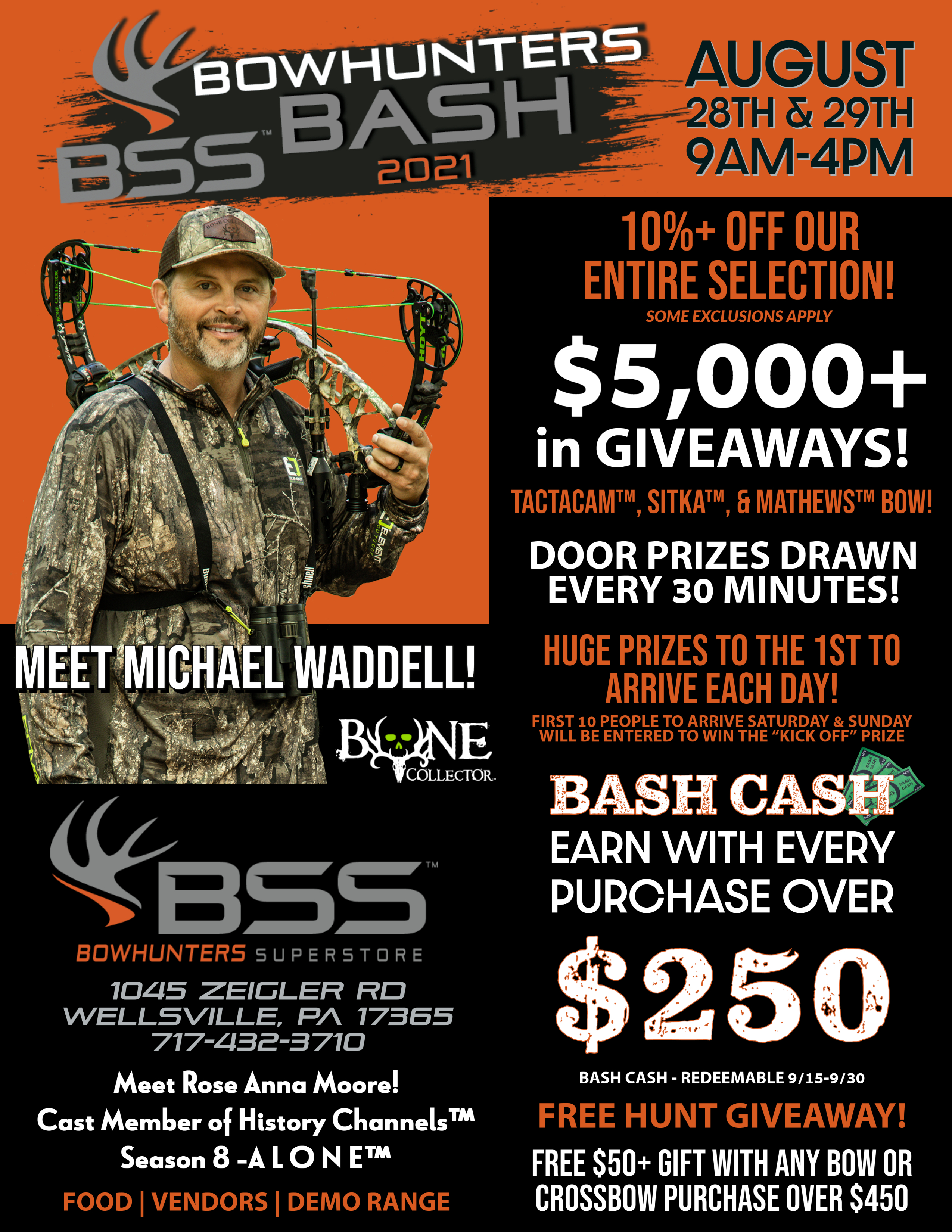 Bowhunters Bash for Bowhunters Superstore @ Bowhunters Superstore