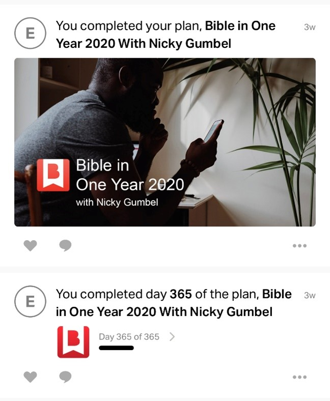 Picture of Nicky Gumbel Bible app