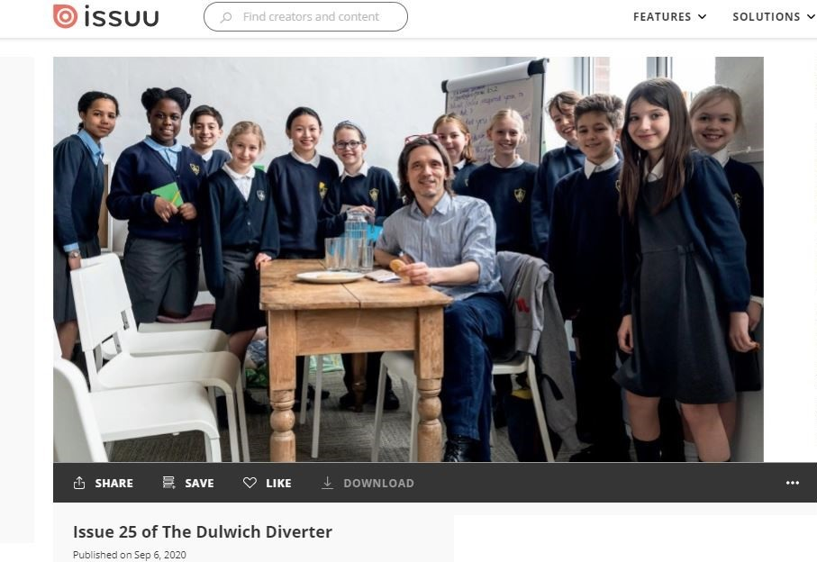 Photo of Jeremy Deller with schoolchildren