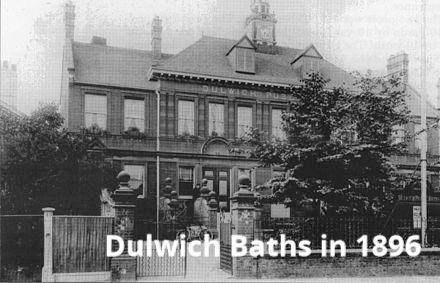 Photo of Dulwichi Baths in 1896