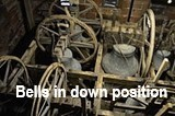 Bells in down position
