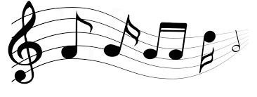 musical notes dancing on a stave