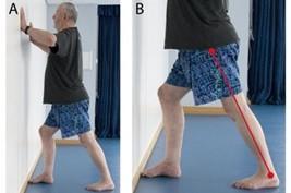 Photos of leg exercises