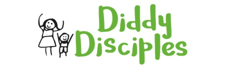 Diddy Disciples logo with pictures of children