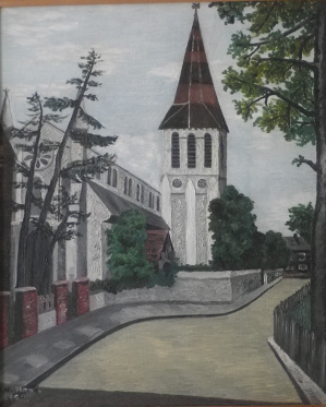 Painting of St John's by Diana Fuller