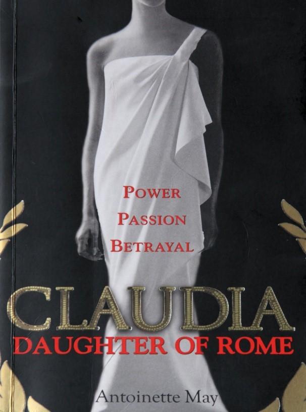 Cover of book Claudia@ Daughter of Rome