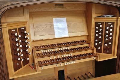Photo of church organ