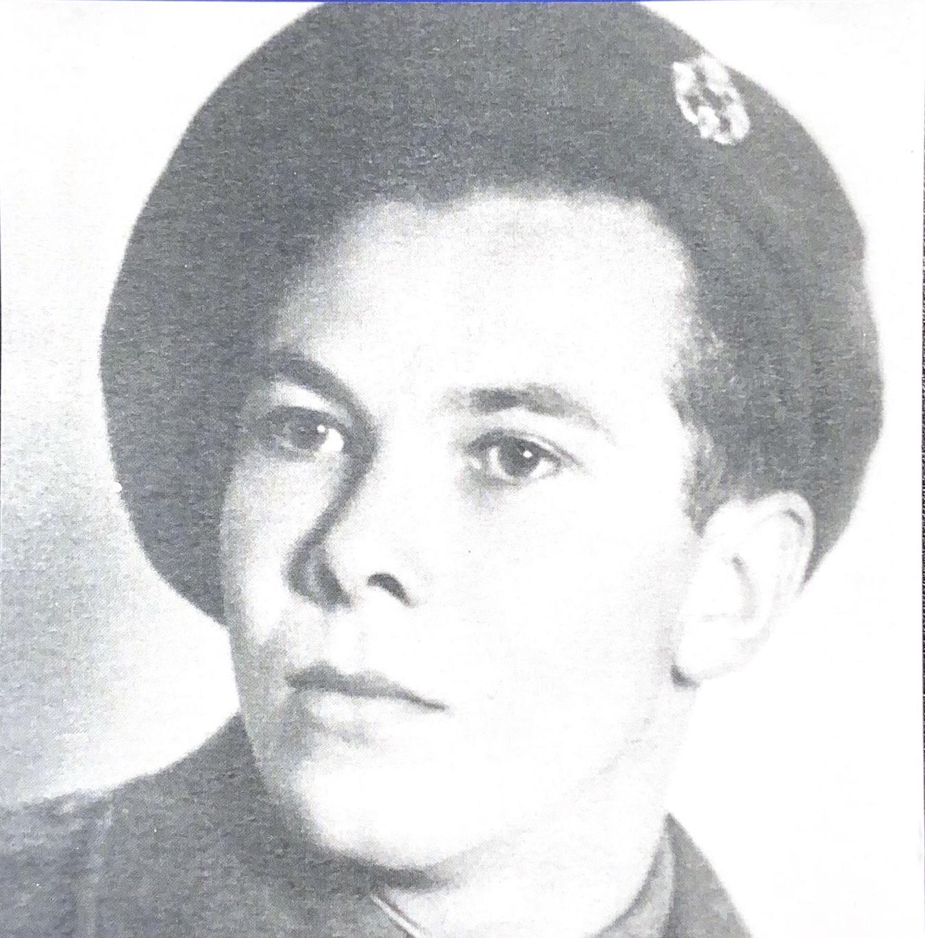 Photo of Bert during the War