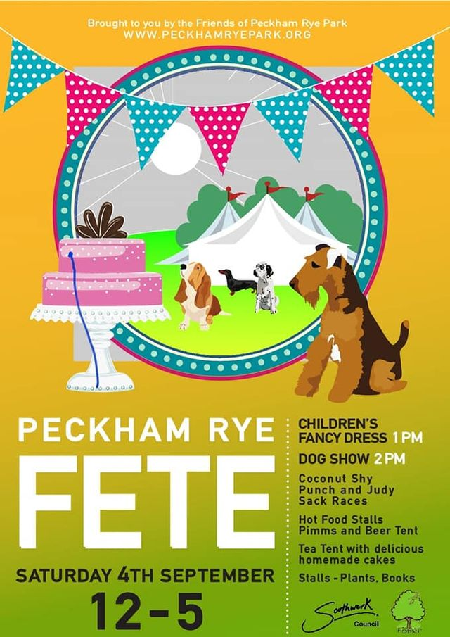 Peckham Rye Fete poster