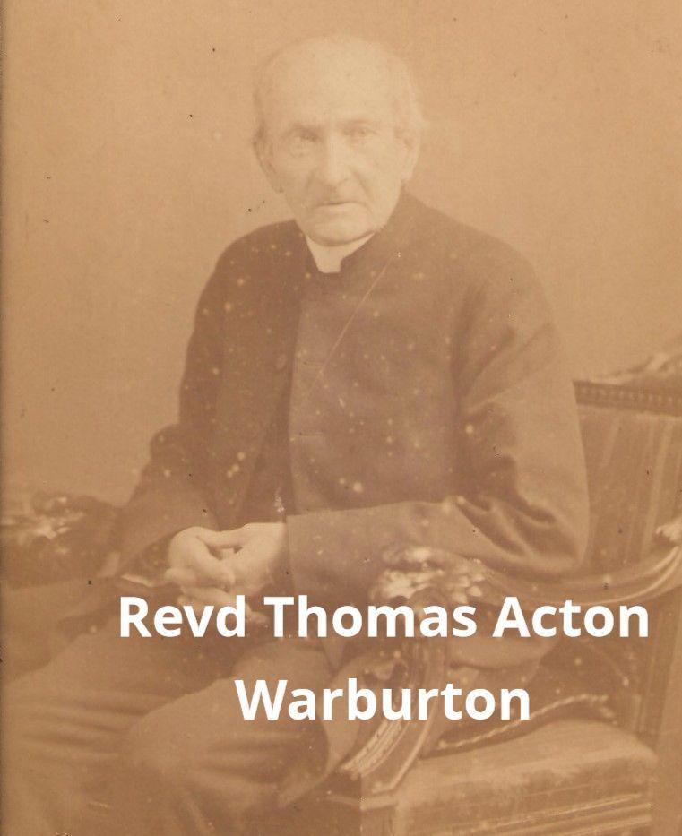 Photo of Revd Thomas Action Warburton