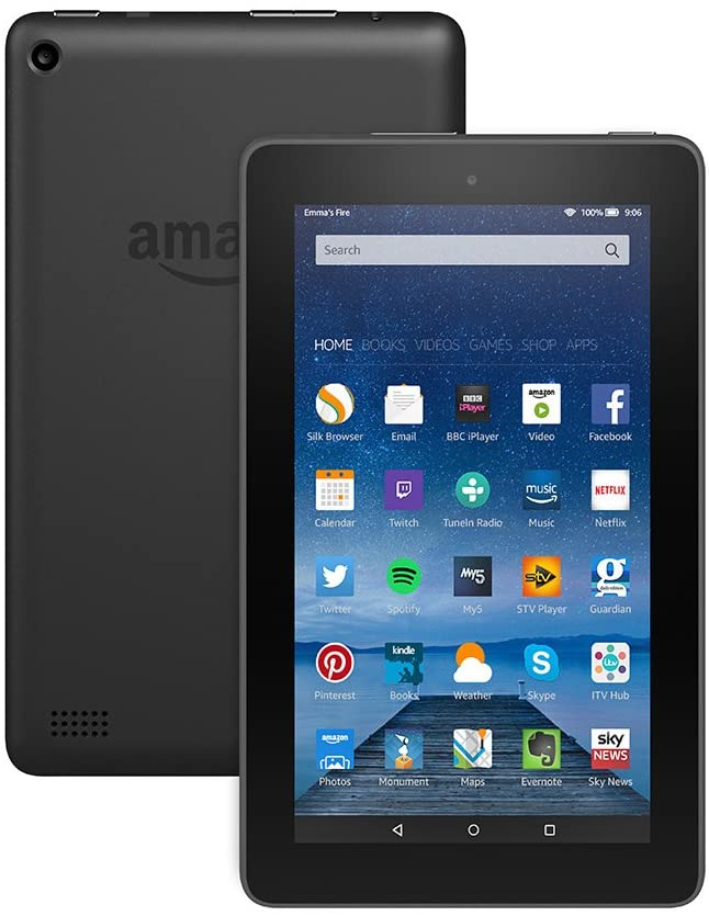 Photo of Amazon tablet device