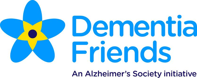 Dementia Friends logo - An Alzheimer's Society Initiative