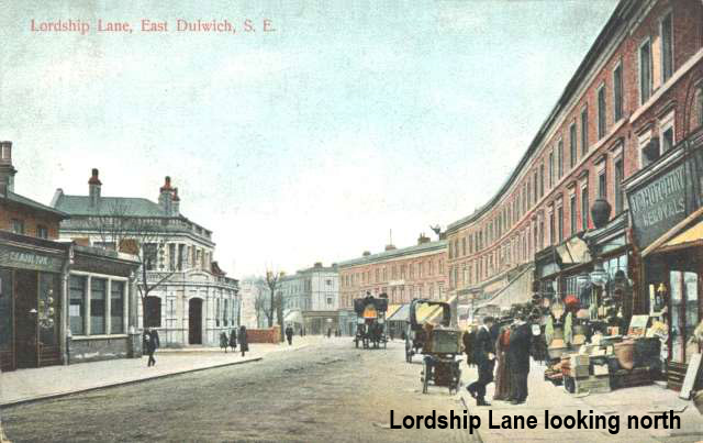 Lordship Lane looking North in early 20th century