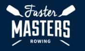 Faster Masters Rowing's crossed-oar logo