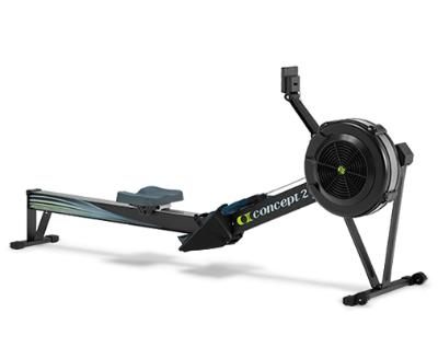 Black Concept2 Model D rowing machine