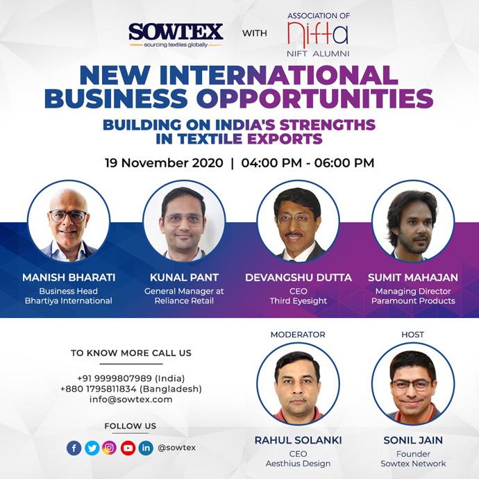 NEW INTERNATIONAL BUSINESS OPPORTUNITIES