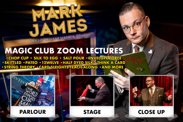 Virtual Lecture - Mark James - July 23rd 2020