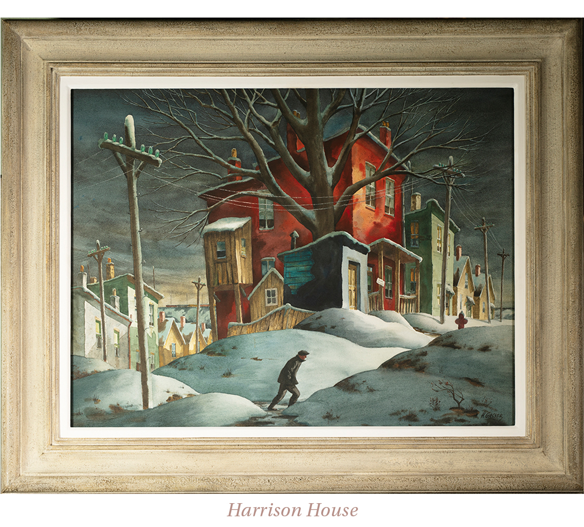 Henry Martin Gasser, Harrison House