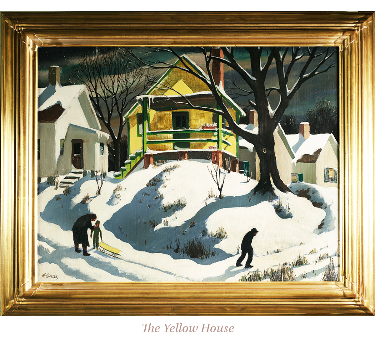 Henry Martin Gasser, The Yellow House