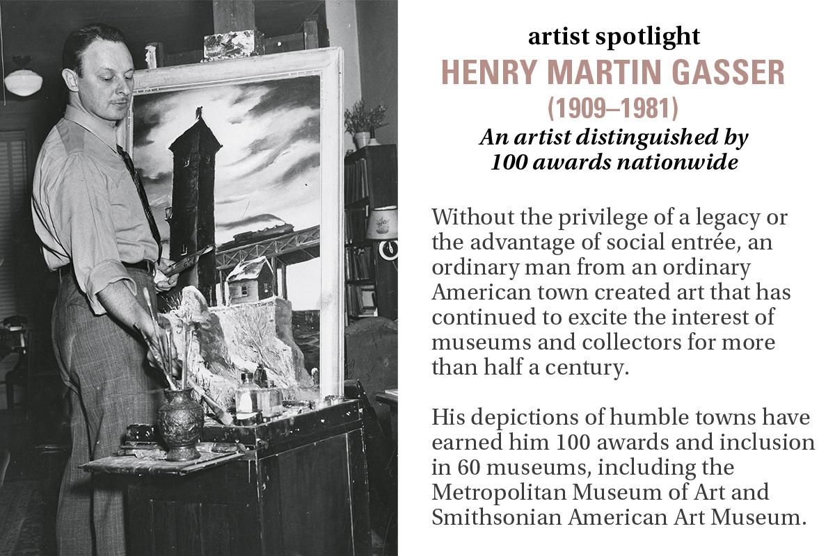 artist spotlight: HENRY MARTIN GASSER