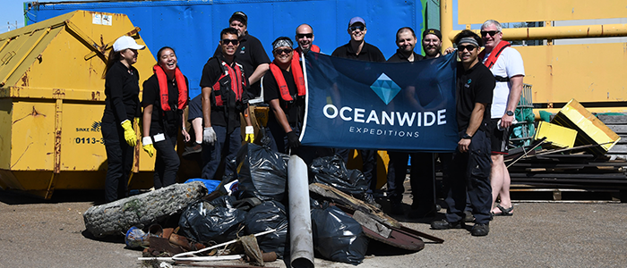 Oceanwide proudly participates in AECO'S Cleanup for Sarah  (June 2021)