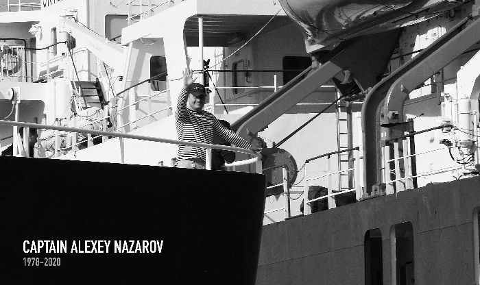 Oceanwide Expeditions Loses a Captain, Colleague, and Friend (Alexey Nazarov - October 2020)