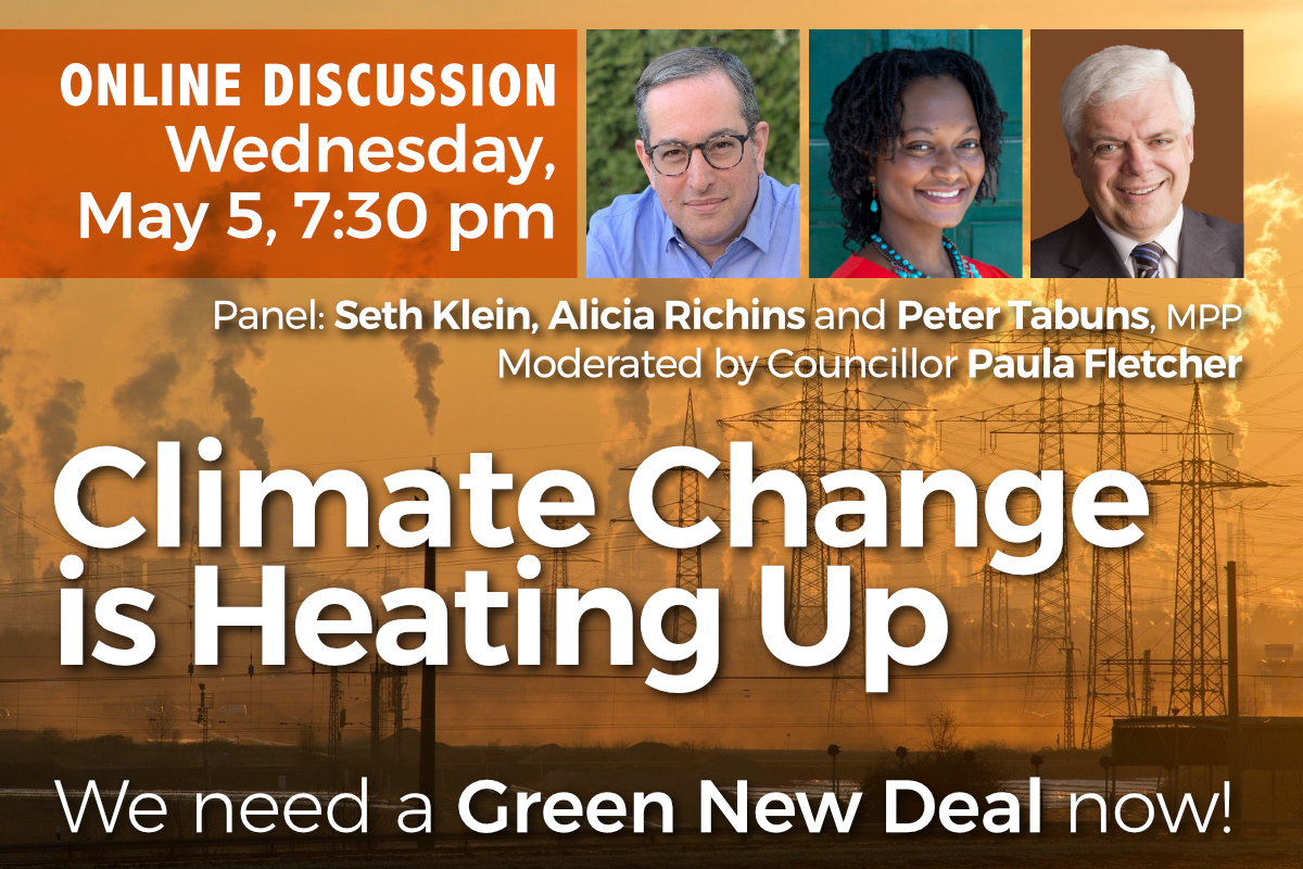 Climate Change is Heating Up - May 5 Online Discussion