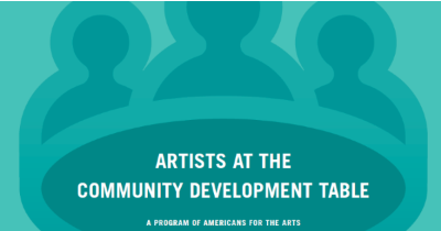 Artists at the Community Development Table