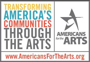 americans for the arts logo and link to webinar