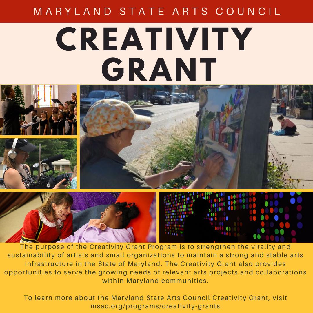 MSAC Creativity Grant