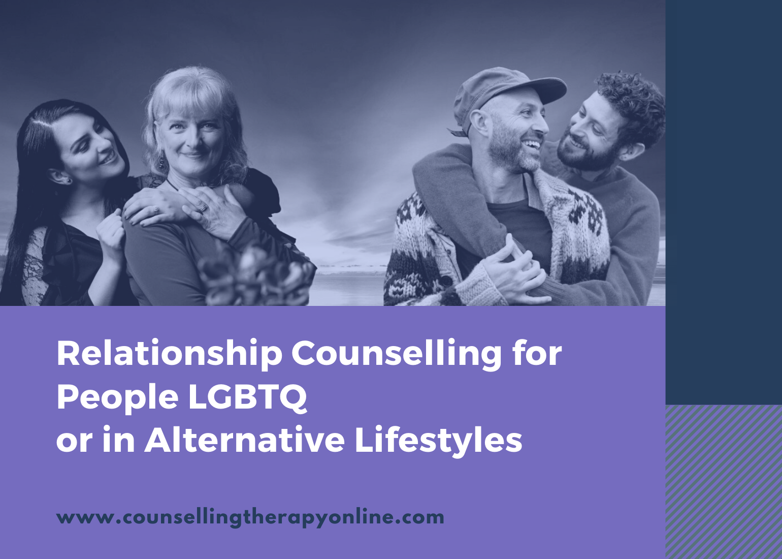 Online Relationship counselling therapy for LGBTQ