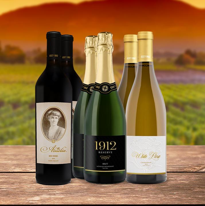 image of True North wine bottles