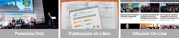 Participa en el VI Congreso Ciudades Inteligentes